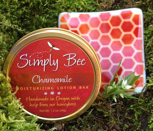 Chamomile Lotion Bar and Dish Combo