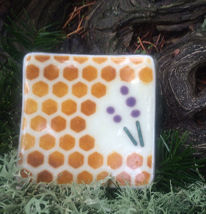 Lavender Collection: Small Honeycomb