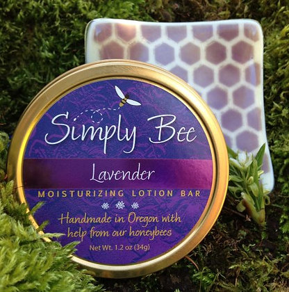 Lavender Lotion Bar and Dish Combo