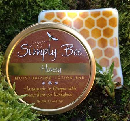 Honey Lotion Bar and Dish Combo