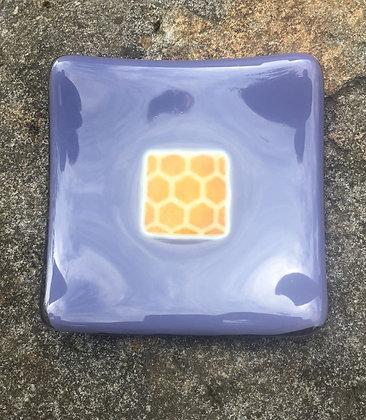 Small Lavender CutComb Dish