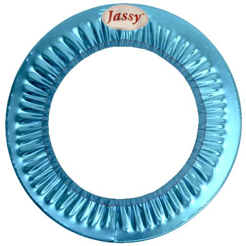 Hoop Cover (Metallic Turquoise)