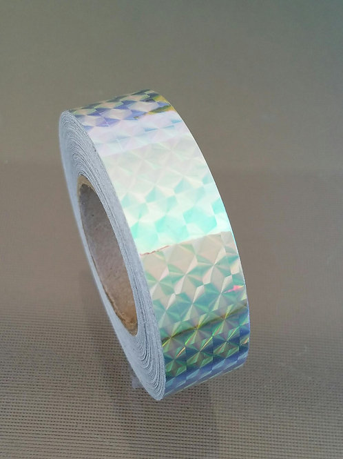 Jassy Hoop Tapes (Silver Holographic)