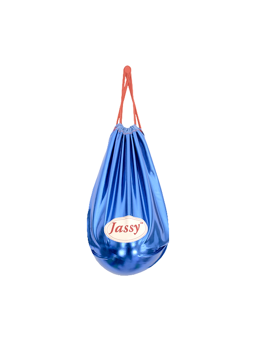 Ball Bag (Metallic Blue)