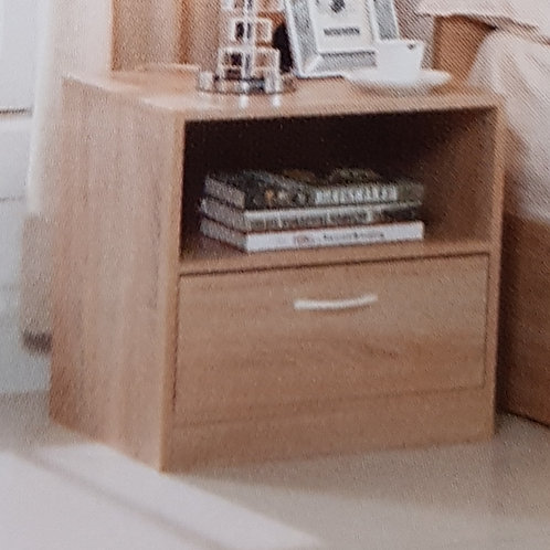 Yewtree 1 Drawer Bedside Cabinet