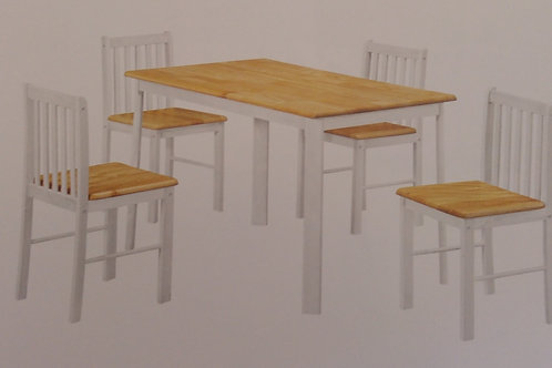 Sheldon Dining Table and 4 Chairs
