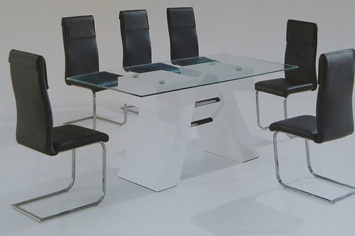 Reno Dining Table and 6 Chairs