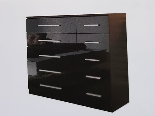Topline High Gloss 5 + 5 Chest of Drawers