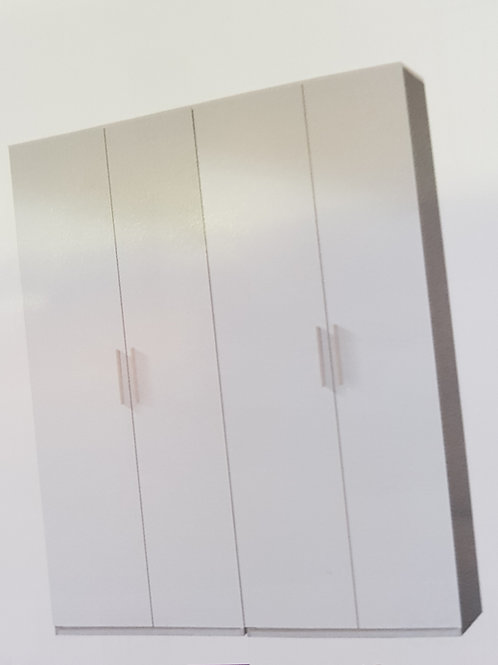 Arctic 4 Door Wardrobe