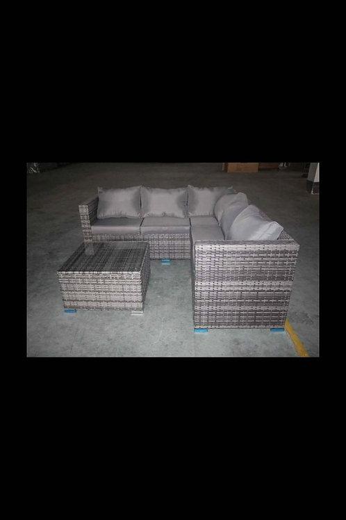 Corner Sofa Rattan Set