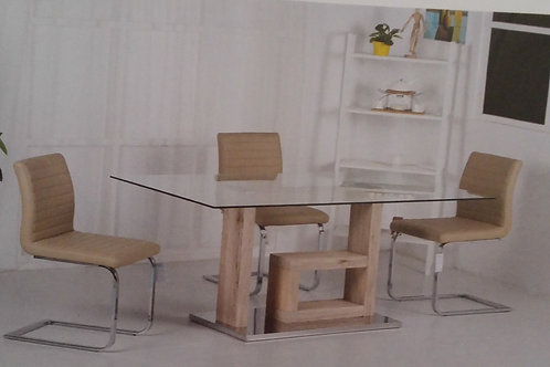 Lucia Dining Table and 6 Chairs