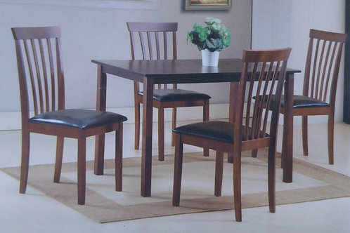 Avery Dining Table and 4 Chairs