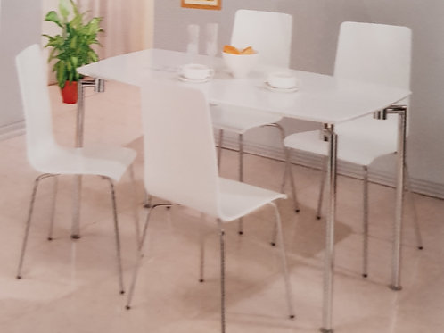 Fiji Rectangular Dining Table and 4 Chairs