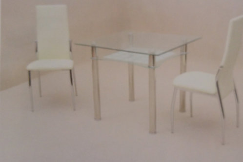 Jazo Dining Table and 2 Chairs