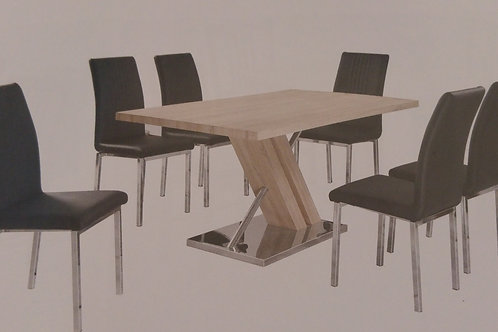 Montague Dining Table and 6 Chairs