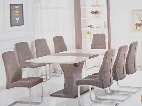 Belarus Extending Dining Table and 6 Chairs