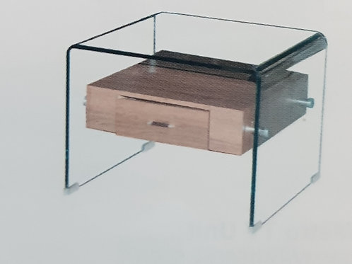 Angola Lamp Table with Drawer