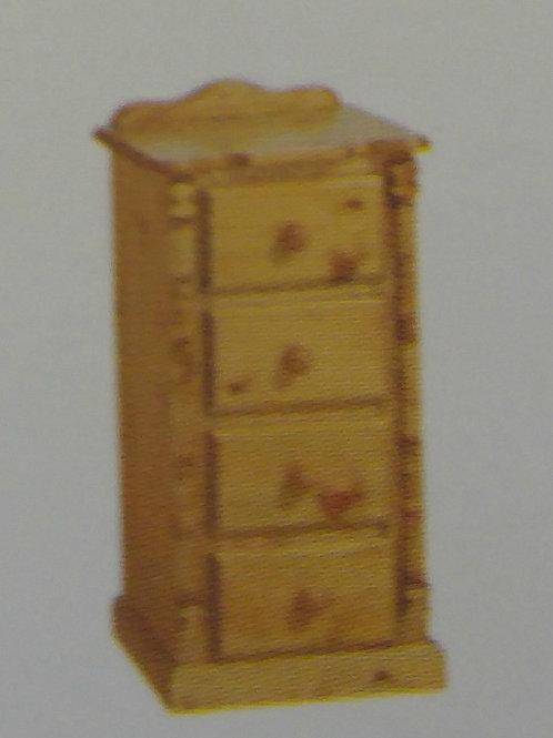 4 Drawer Bedside Cabinet