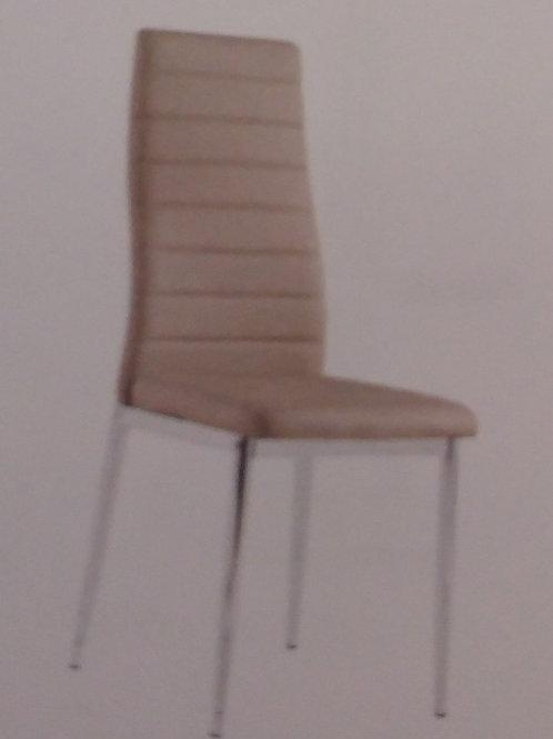 Pearl PU Chrome Chair (6's)