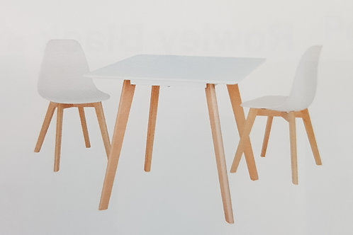 Belgium Small Dining Table and 2 Chairs