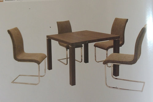 Finlay Square Dining Table and 4 Chairs
