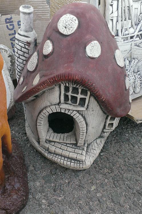Concrete Mushroom House
