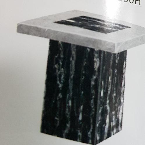Lotus Marble Lamp Table