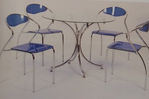 Jersey Dining Table and 4 Chairs