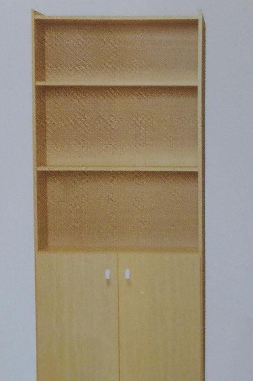 Santos Book Case with Doors
