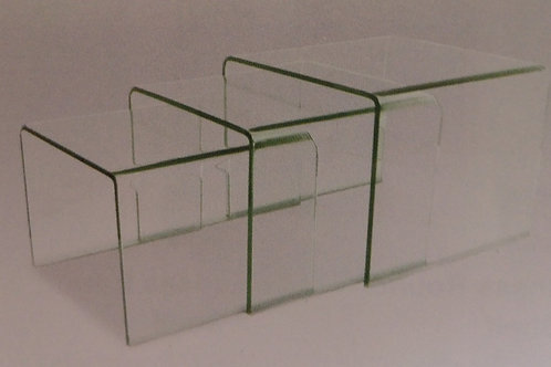 Angola Clear Nest of Tables