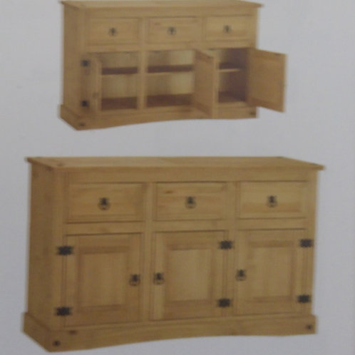 Corona Sideboard 3 Door and 3 Drawer
