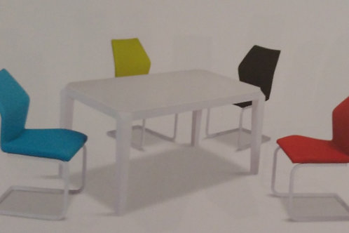 Fleming Dining Table and 4 Chairs
