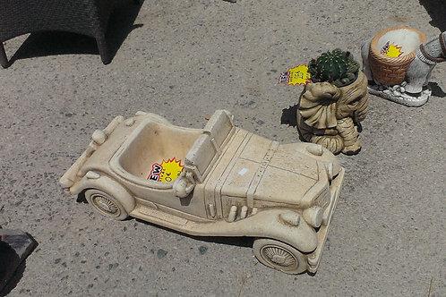 Concrete Car Ornament
