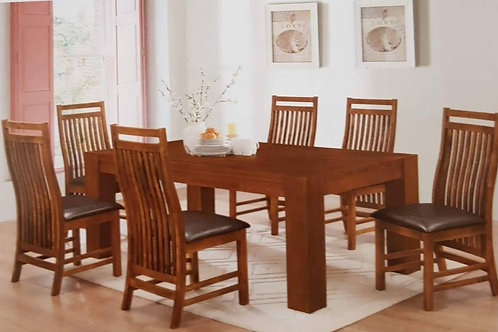 Yaxley Dining Table and 6 Chairs