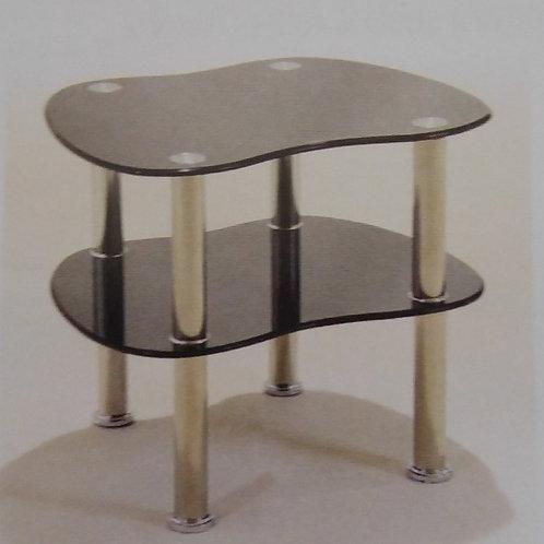Hudson Black Side Table