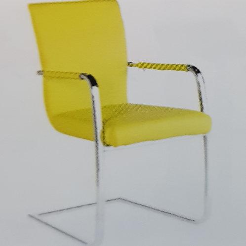 Una Chrome Chair Pair