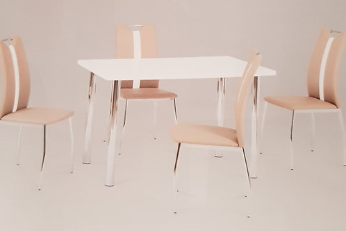 Naomi Dining Table and 4 Chairs