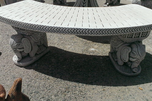 Concrete Garden Table and 3 Benches