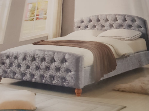 Millbrook Crushed Velvet Bed