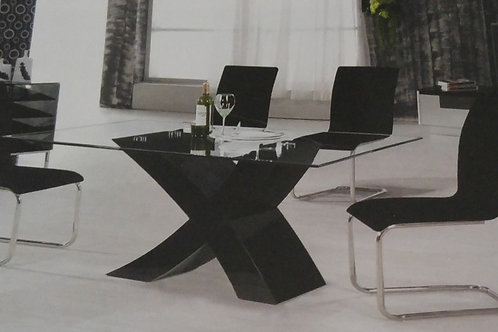 Arizona Dining Table and 4 Chairs