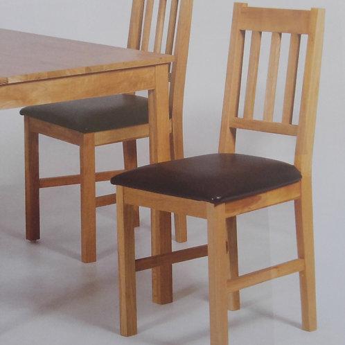 Hyde Solid Oak Chair Pair