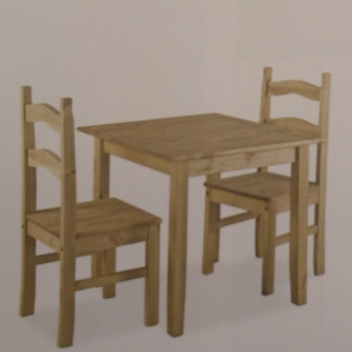 Coba Dining Table and 2 Chairs