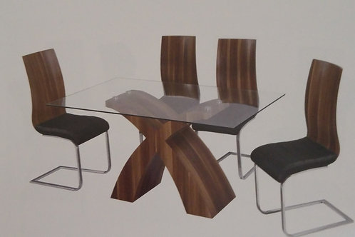 Holte Dining Table and 6 Chairs