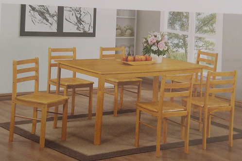 York Medium Dining Table and 4 Chairs
