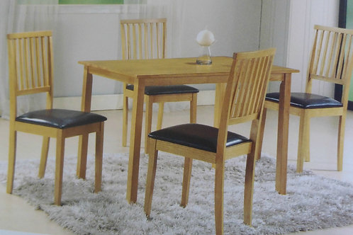 Celebes Dining Table and 4 Chairs