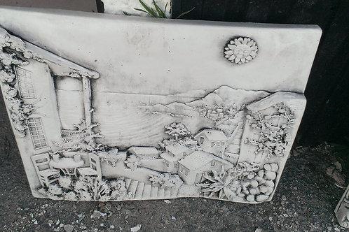 Concrete Plaque