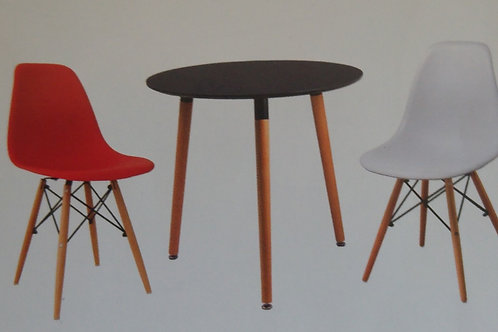 Lilley Round Table and 4 Chairs