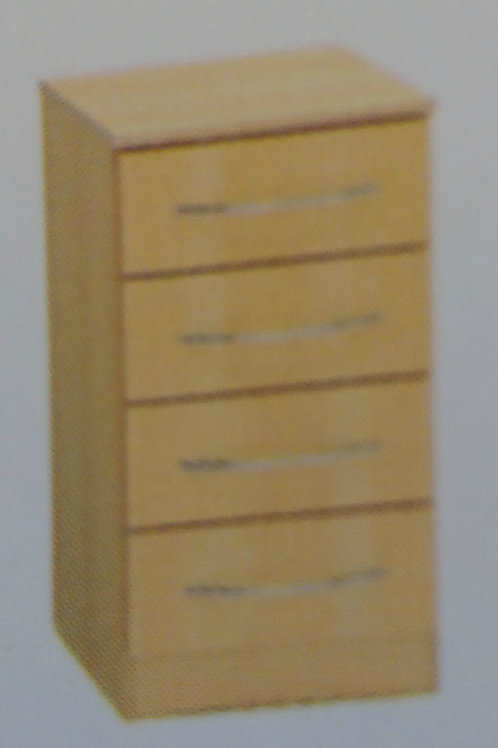 4 Drawer Bedside Cabinet