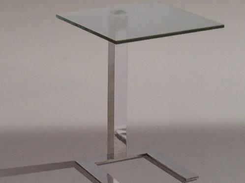 Kia Clear Lamp Table Pair