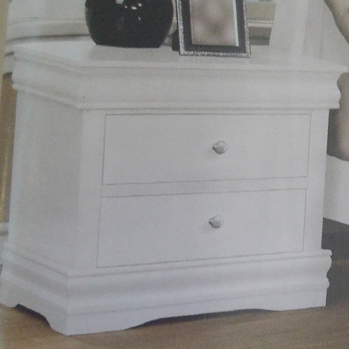 Horizon 2 Drawer Bedside Cabinet